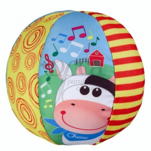 CHICCO PELOTA MUSICAL 3-36M