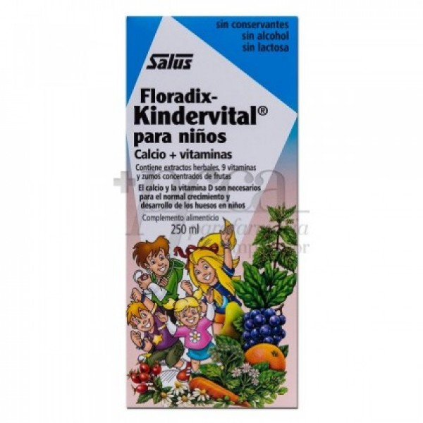 FLORADIX KINDERVITAL 250 ML.
