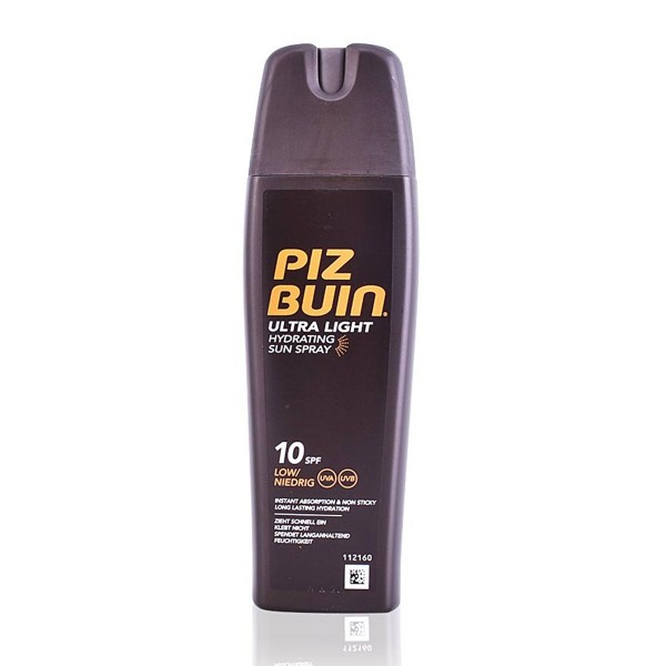 Piz buin ultra light sun spray spf10 200ml vaporizador