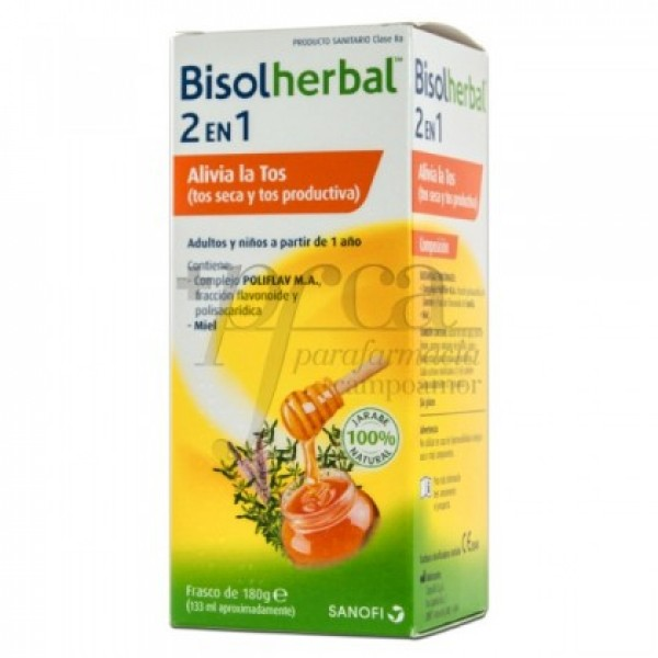 BISOLHERBAL 2 EN 1 TOS SECA Y PRODUCTIVA 133ML