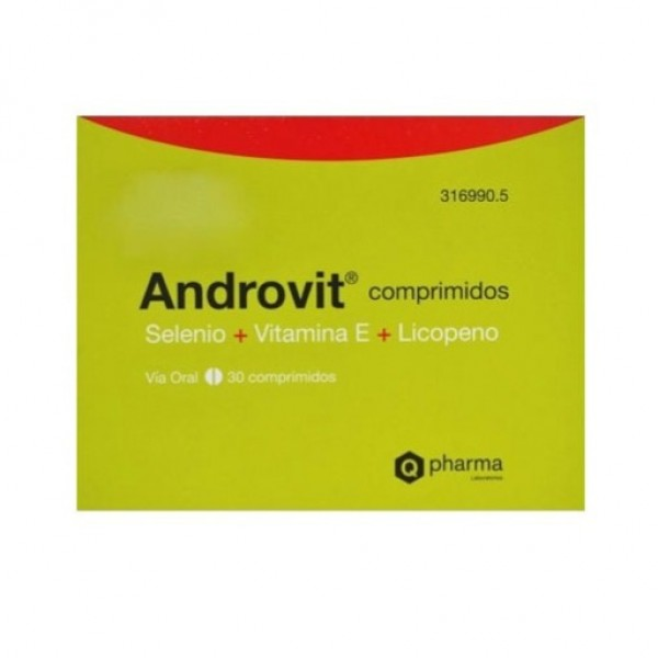 ANDROVIT 30 COMPRIMIDOS